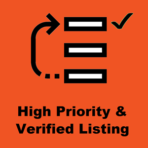 Priority and Verified Listing